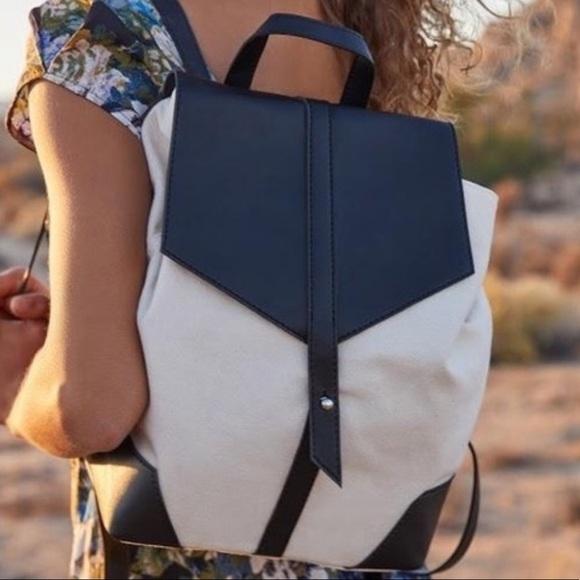 Deux Lux Handbags - NWT Deux Lux Demi Canvas Backpack